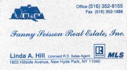 Linda Hill Realtor Card smaller